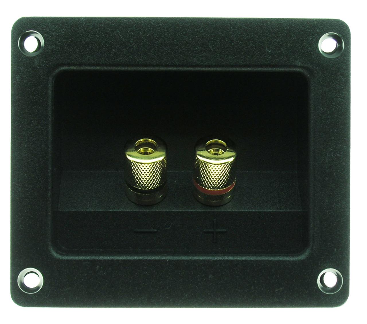 Speaker Terminal Connector, 5 Way Gold Binding Posts, RGT-3000