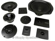 Advent Speakers and Acoustic Research Speaker Parts