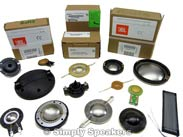 Speaker Diaphragms and Parts