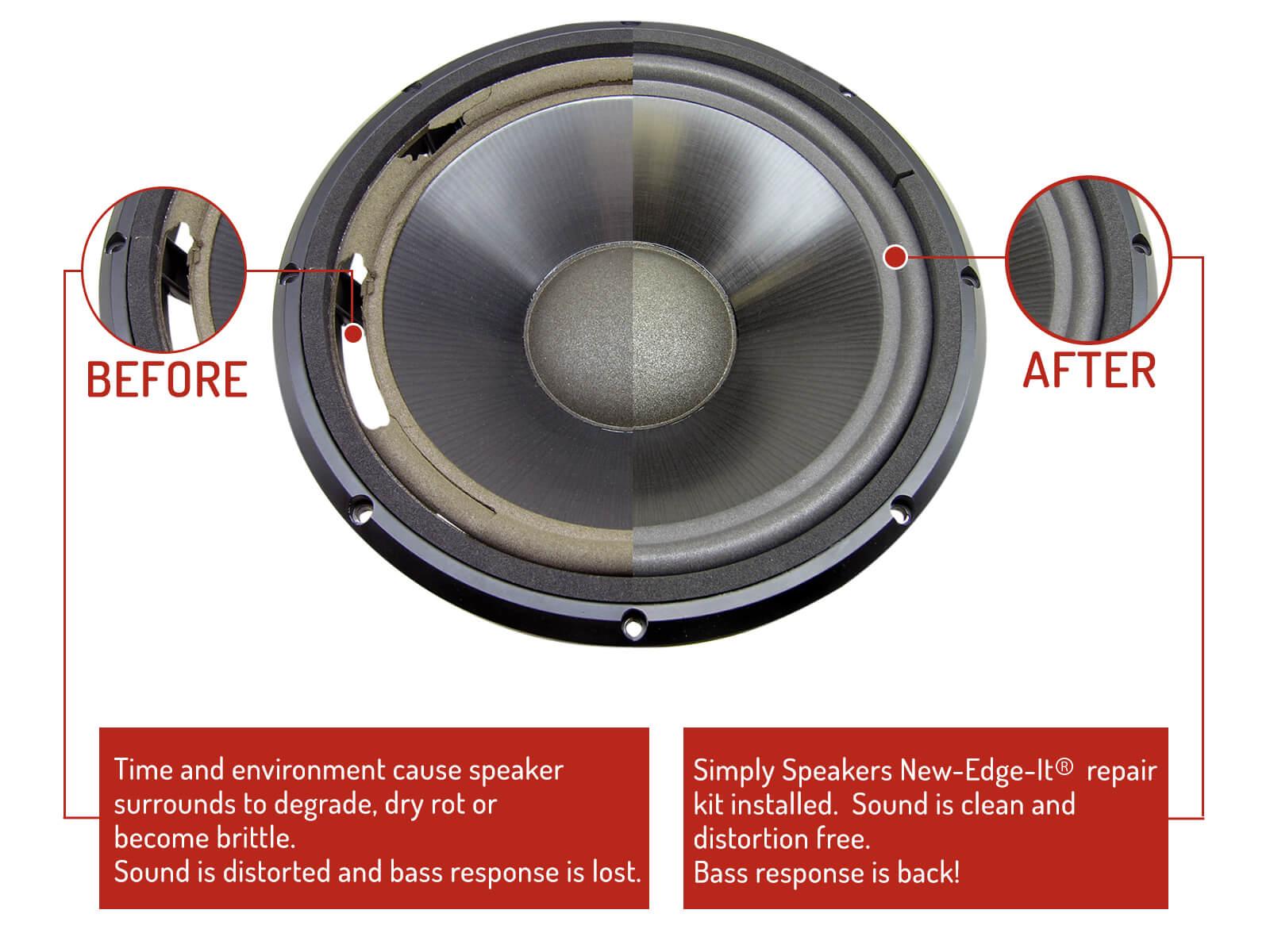 Infinity Speaker Foam Edge Repair Kit 12 Quot Infinity Sm 120