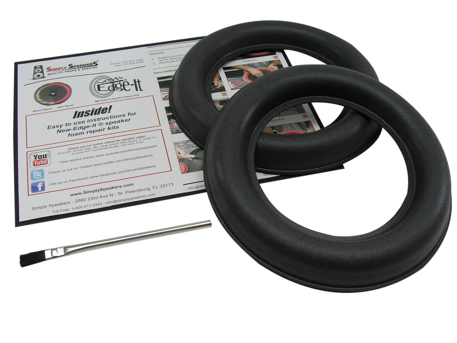 JL Audio 8W7 Foam Edge Repair Kit