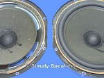 AR3A Woofer Speaker Repair