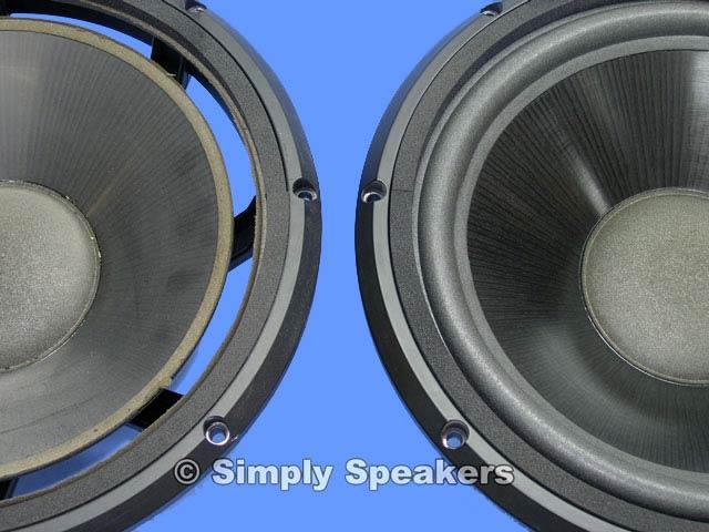 Simply Speakers Infinity Kappa Speaker Woofer Repair