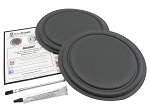 "Standard 10"" Passive Radiator Repair Kit PASK-10 (PAIR)"