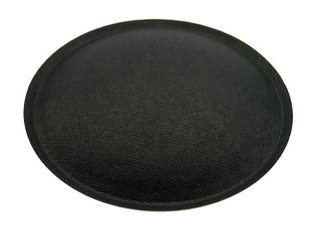 "Speaker Dust Cap, 2.5"" Black Paper, DC-2.5P"