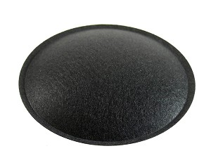 "Speaker Dust Cap, 3.75"" Black Felt, DC-3.75F"