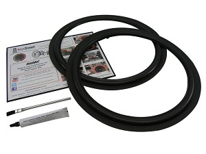 "Fisher 15"" Foam Speaker Repair Kit FSK-15F (PAIR)"