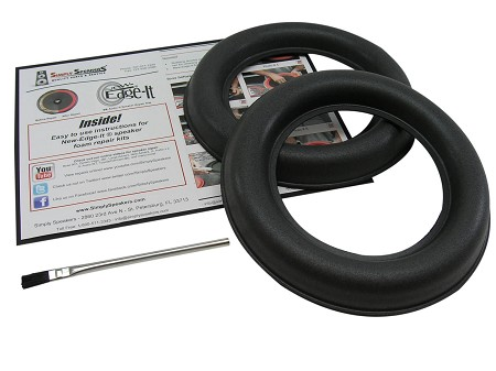 "JL Audio 8"" W7 Foam Speaker Repair Kit, Super Wide Roll, 8W7, FSK-8JL-W7 (PAIR)"