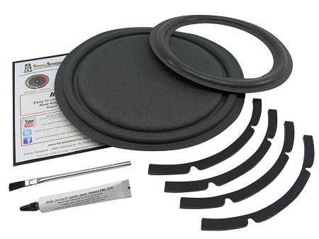 Velodyne VA-1012 Subwoofer Repair Kit, Speaker, Passive Radiator, Gasket, FSK-VA1012