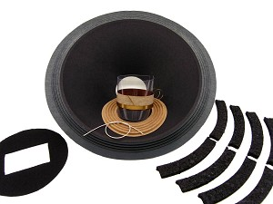 "SS Audio Recone Kit for 15"" Altec Lansing, 604 Co-Ax, 16 Ohms, RK-AL604-16"