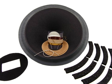 "SS Audio Recone Kit for 15"" Altec Lansing, 604 Co-Ax, 8 Ohms, RK-AL604-8"