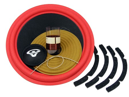 "SS Audio Recone Kit for 10"" Cerwin Vega DXW10, 8 Ohms, RK-CVDXW10"