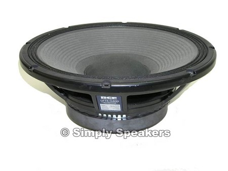 "RCF LF15 G400 15"" Pro Speaker, Sold Out!"