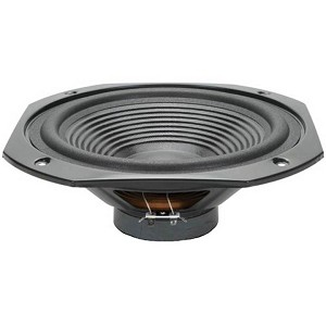 "10"" Square Frame OEM Woofer, Laminated Cone, 8 Ohm, W-1131"