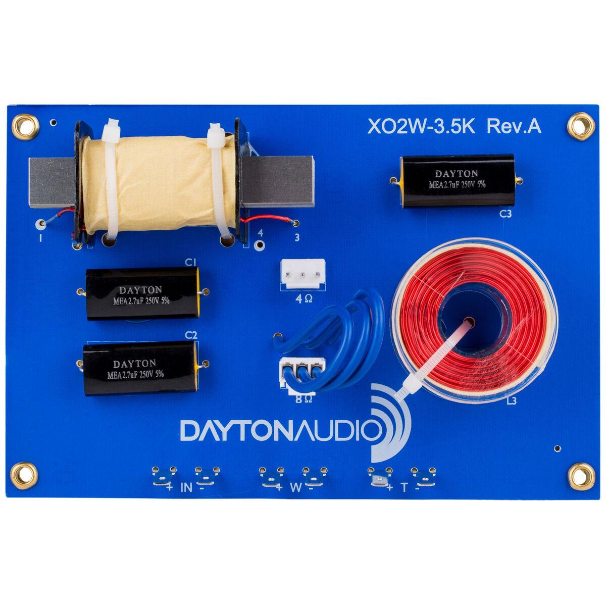 speaker crossover, 2 way, 3500 hz, linkwitz riley, 4 or 8 ohm, a 1303 4 Ohm Speaker Wiring Diagram 2 way speaker crossover, 3500 hz