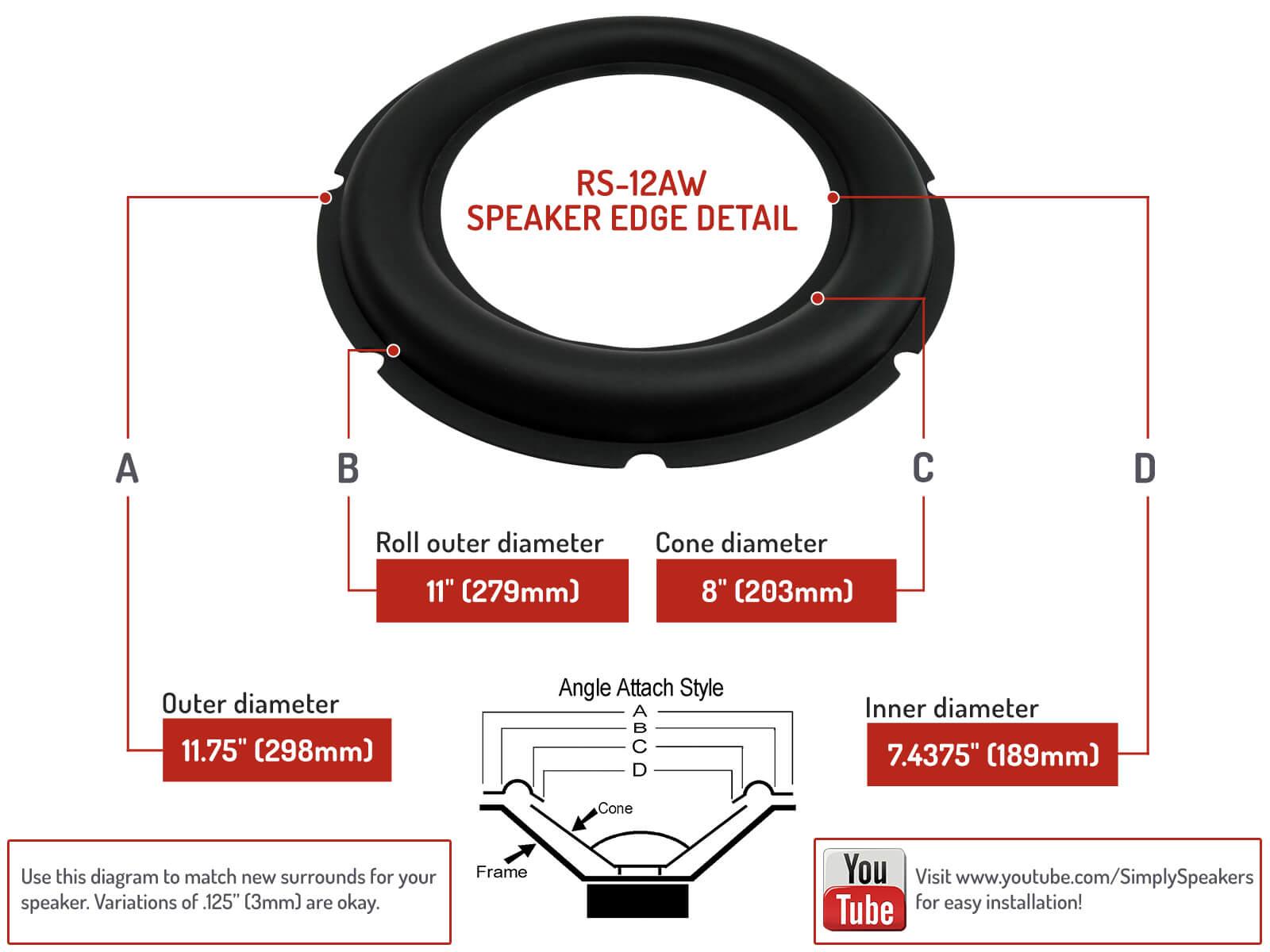 Accessories & Supplies Audio & Video Accessories Zerone 2pcs 6 ...