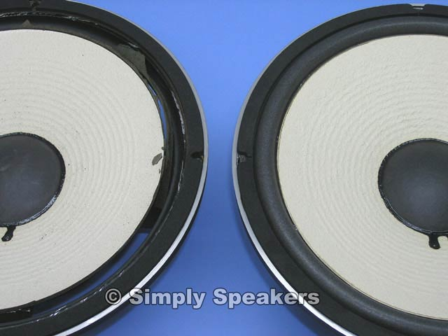 Simply Speakers - JBL 128H Speaker Woofer Repair