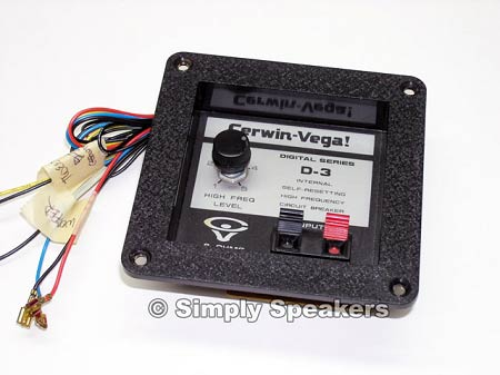 Cerwin Vega Crossover, 2 Way, D3 Speaker, Sold Out!