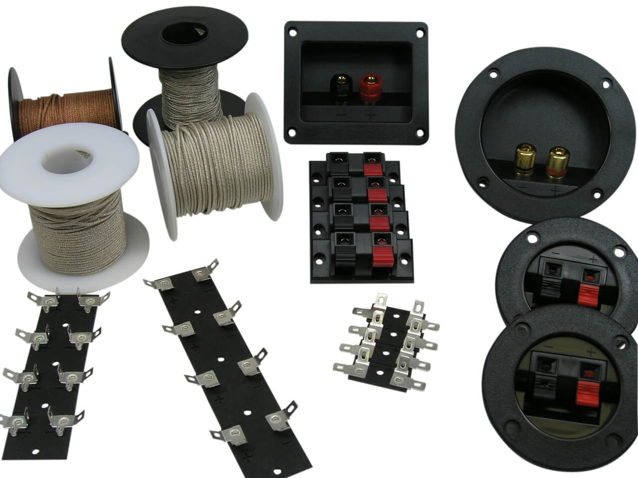 Speaker Parts, Foam Edge Speaker Repair Kits, Speaker Recone Kits
