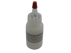 Speaker Repair Adhesive, Dust Cap, Cone Edge Sealer, White, MI-1291, 1 Ounce
