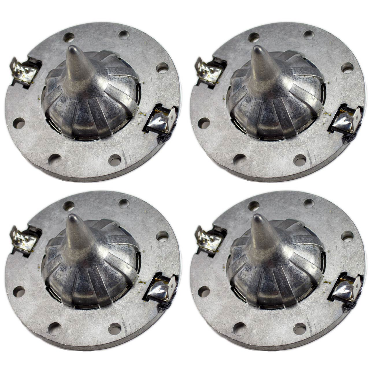 SS Audio Diaphragm for JBL 2408H, 8 Ohm Horn Driver, FULL METAL, D-2408-4 (4 PACK)