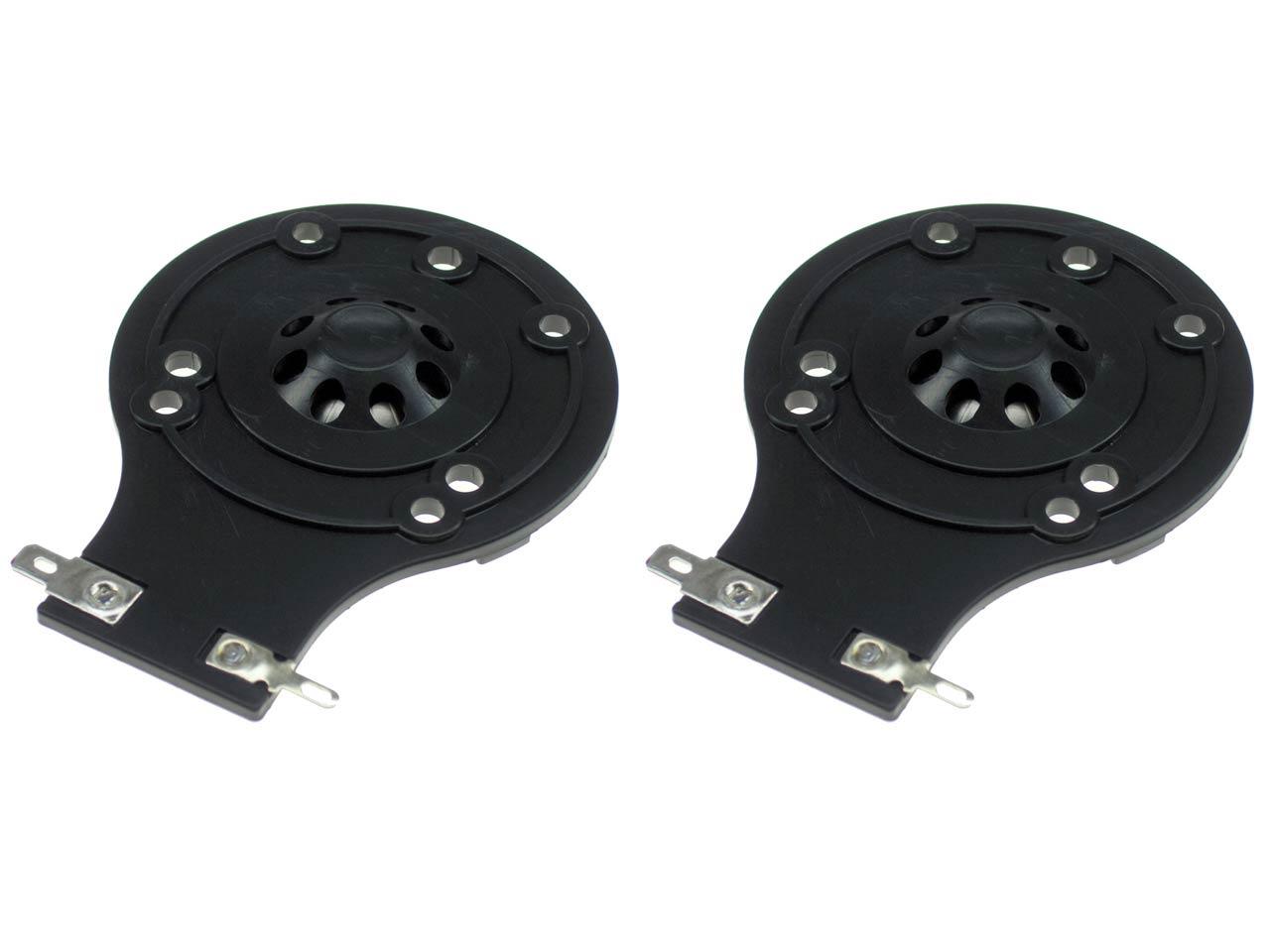 SS Audio Diaphragm for JBL 2412H, 2412H-1, 2413, JRX, TR Series, MPro,  Sound Factor, D-2412-PL-2 (2 PACK)