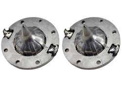 SS Audio Diaphragm for JBL 2408H, 8 Ohm Horn Driver, FULL METAL, D-2408-2 (2 PACK)