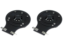 SS Audio Diaphragm for JBL 2412H, 2412H-1, 2413, JRX, TR Series, MPro, Sound Factor, D-2412-PL-2 (2 PACK)