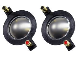 Mackie Speaker Diaphragm 1701-8, DC10, SRM450, 8 Ohm, D-SRM450 (2 PACK)
