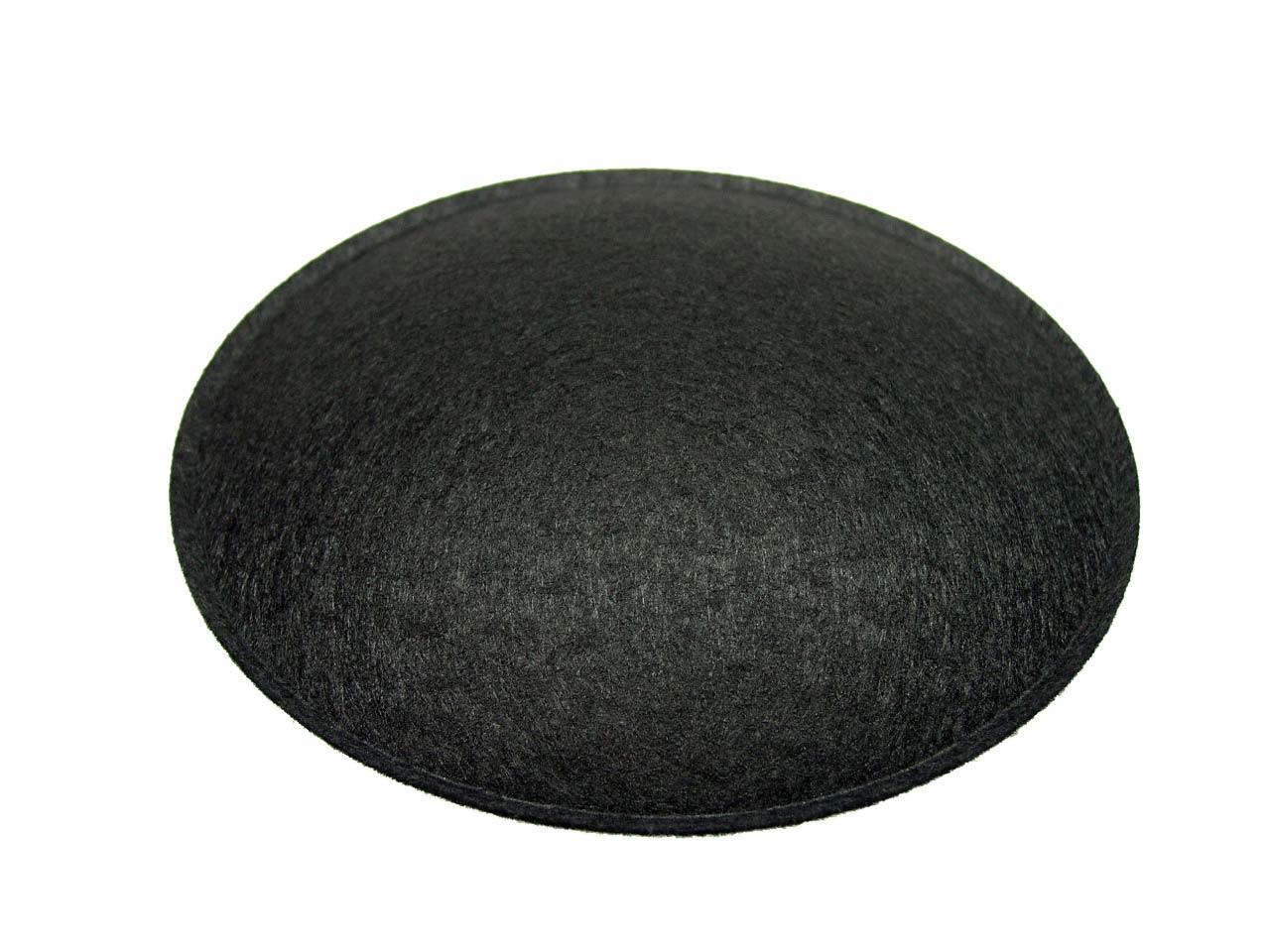 4 5 speaker dust cap black felt with lip dc 4 5f. Black Bedroom Furniture Sets. Home Design Ideas