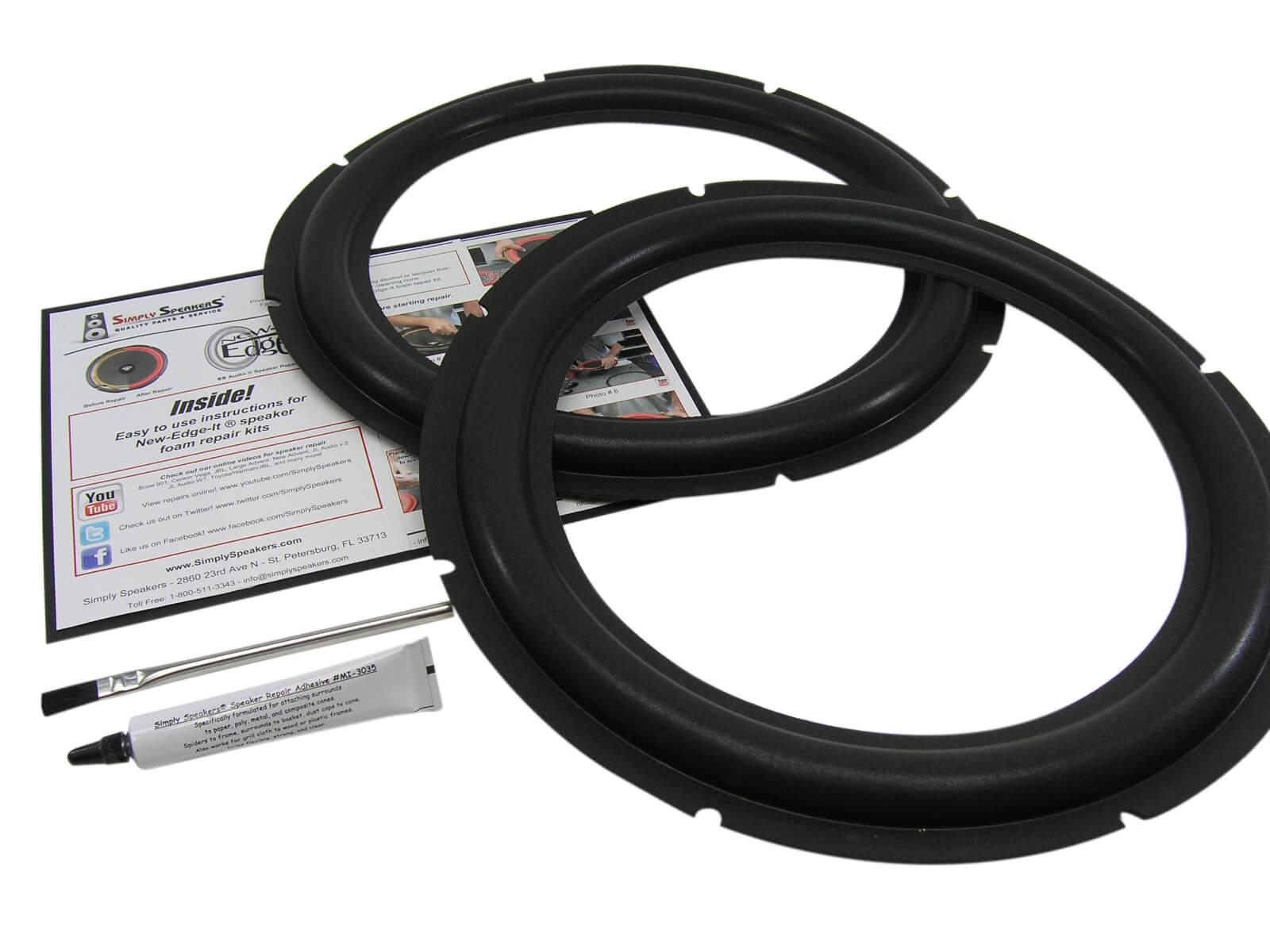 Universal Speaker Surround Repair Foam Woofer Edge Repair Parts FBCA B$CA