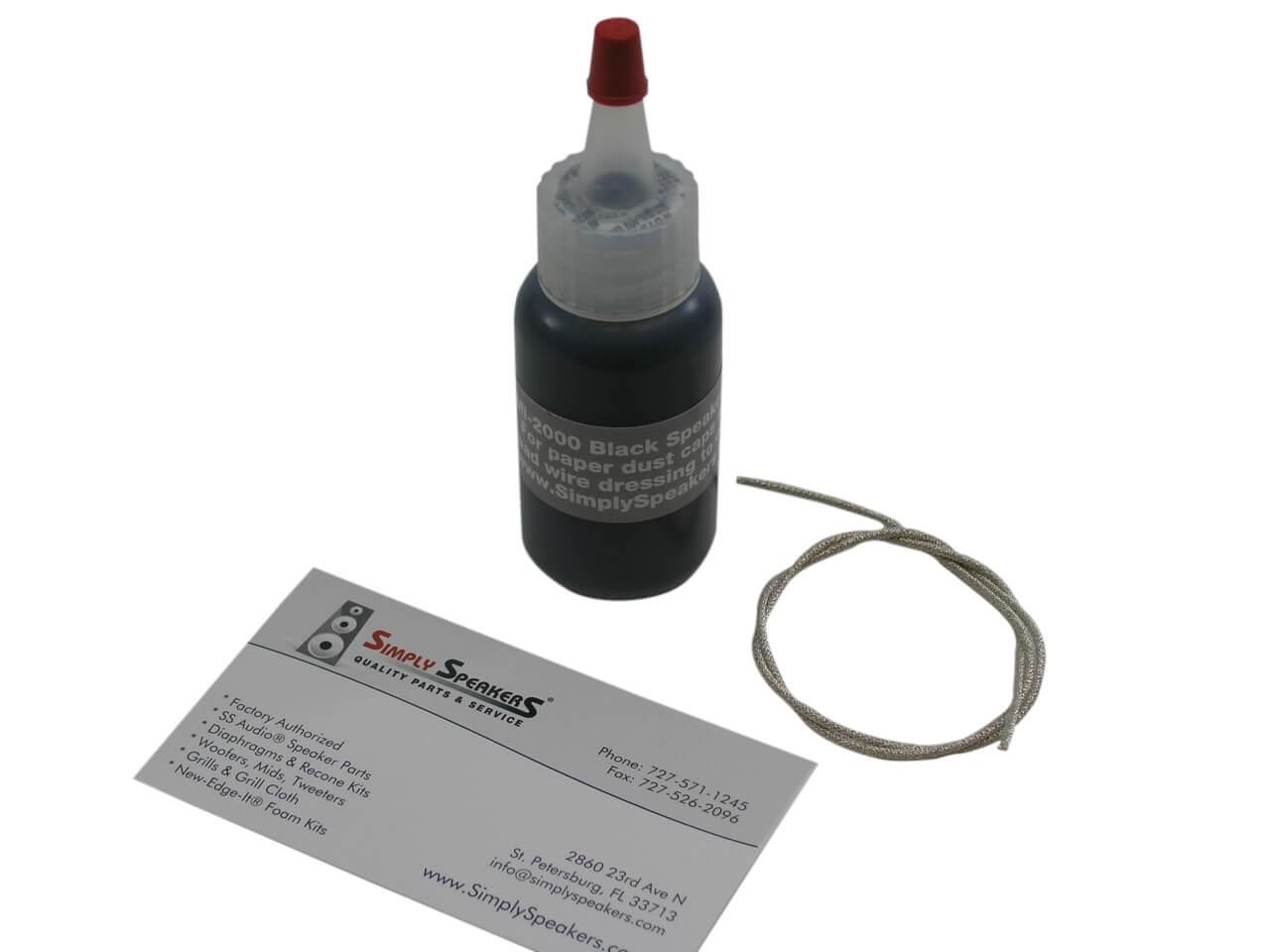 High Power Speaker Lead Wire Repair Kit, 1 Foot, LWK-1