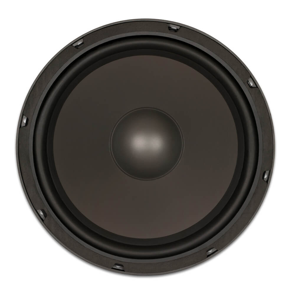 12 heavy duty replacement woofer poly mica cone rubber edge 8 ohm. Black Bedroom Furniture Sets. Home Design Ideas