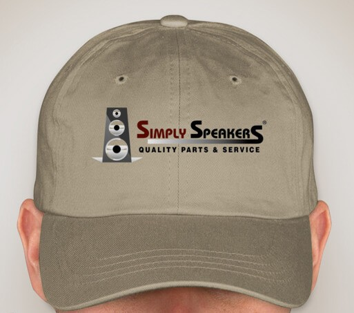 SS Audio Simply Speakers Embroidered Cap - Khaki