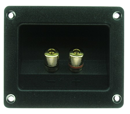 Speaker Terminal, 5 Way Gold Binding Posts, RGT-3000