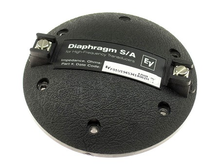 EV Factory Speaker Diaphragm, DH1, N/DYM1, 8 Ohm, 81256XX
