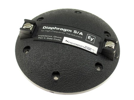 EV Factory Speaker Diaphragm, DH1-16, N/DYM1, 16 Ohm, 81320XX