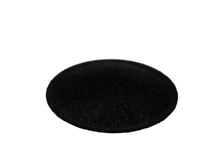 "1.25"" Speaker Dust Cap, Black Felt, With Lip, DC-1.25F"