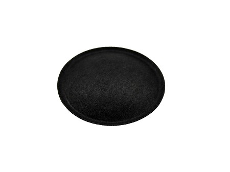 "1.3"" Speaker Dust Cap, Black Paper, With Lip, JBL LE5, DC-1.3P"