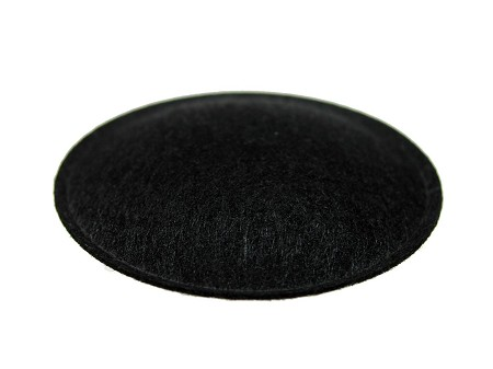 "Speaker Dust Cap, 1.75"" Black Felt, DC-1.75F"
