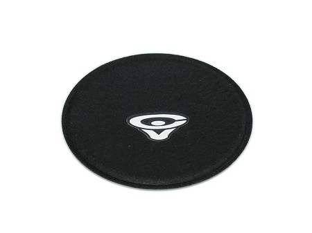 "3.75"" Speaker Dust Cap, Black Felt, Inverted, Cerwin Vega Logo, DC-3.75F-Vi"