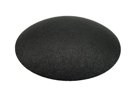 "3"" Speaker Dust Cap, Black Paper, No Lip, JBL, DC-3P"