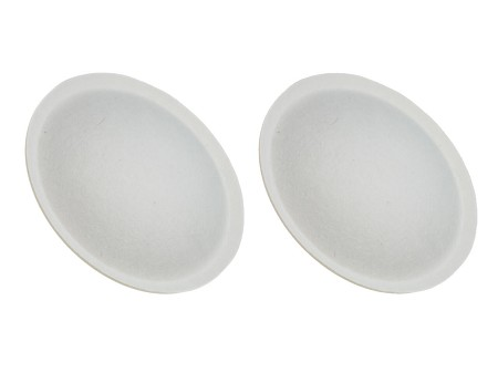 "1.6875"" Speaker Dust Caps, White Paper, Yamaha NS10M, DC-NS10M-2 (2 PACK)"