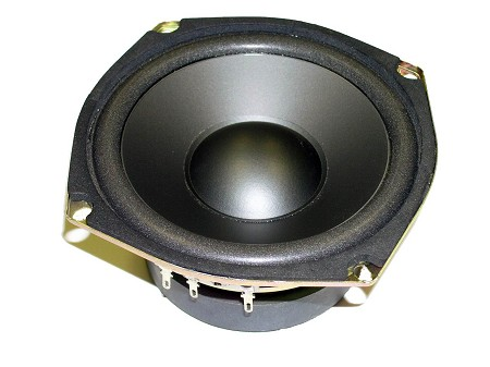 "5.25"" Mid Bass, Poly Cone, Foam Edge, 8 Ohm, W-520-8"