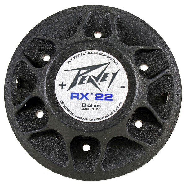 Peavey RX22, 22XT, 22XT+, 22N Factory Speaker Diaphragm, 8 Ohms, 03452400, NEW 03617300