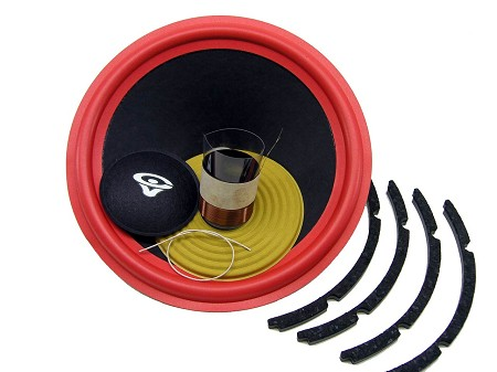 "SS Audio Recone Kit for 12"" Cerwin Vega 122s4, 4 Ohms, RK-CV122s4"