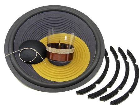 "SS Audio Recone Kit for 12"" JBL 128H, 128H-1, 129H, 8 Ohms, RK-JBL128H"