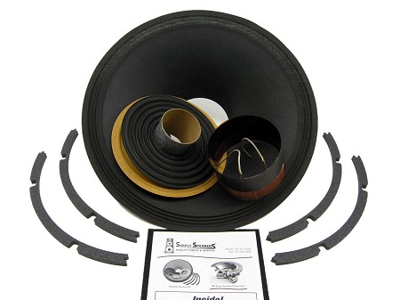 "Genuine Eminence Recone Kit for 15"" Kilomax 15A, 8 Ohms, EM-RK-KILOMAXPRO15A"