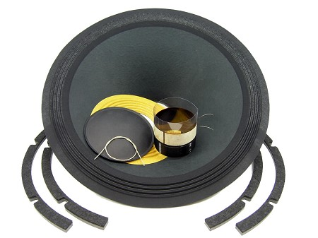 "SS Audio Recone Kit for 18"" Yamaha JAY7010, 8 Ohms, RK-JAY7010"