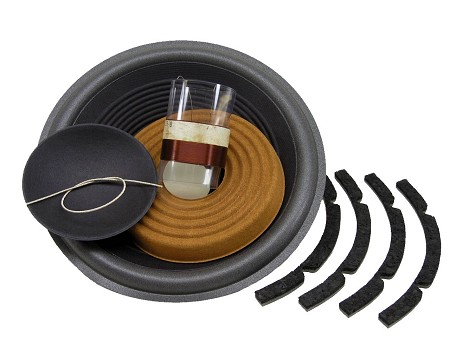 "SS Audio Recone Kit for 10"" JBL 125A, 127A, 8 Ohms, RK-JBL125A"